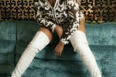 Want to Lick My Boots - TS Rachel Dominatrix